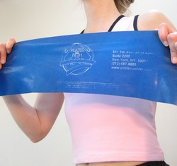 Stretch Band - Pilates on Fifth (Blue)