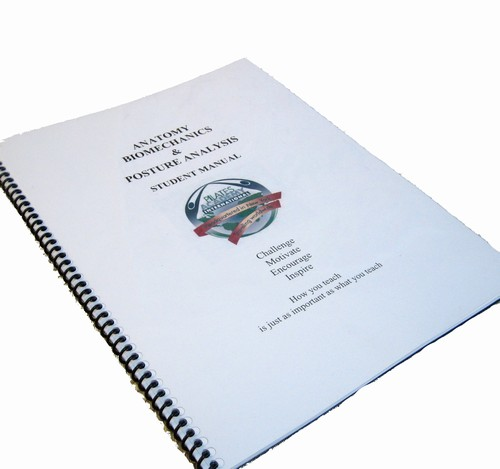 Anatomy, Biomechanics & Posture Workbook