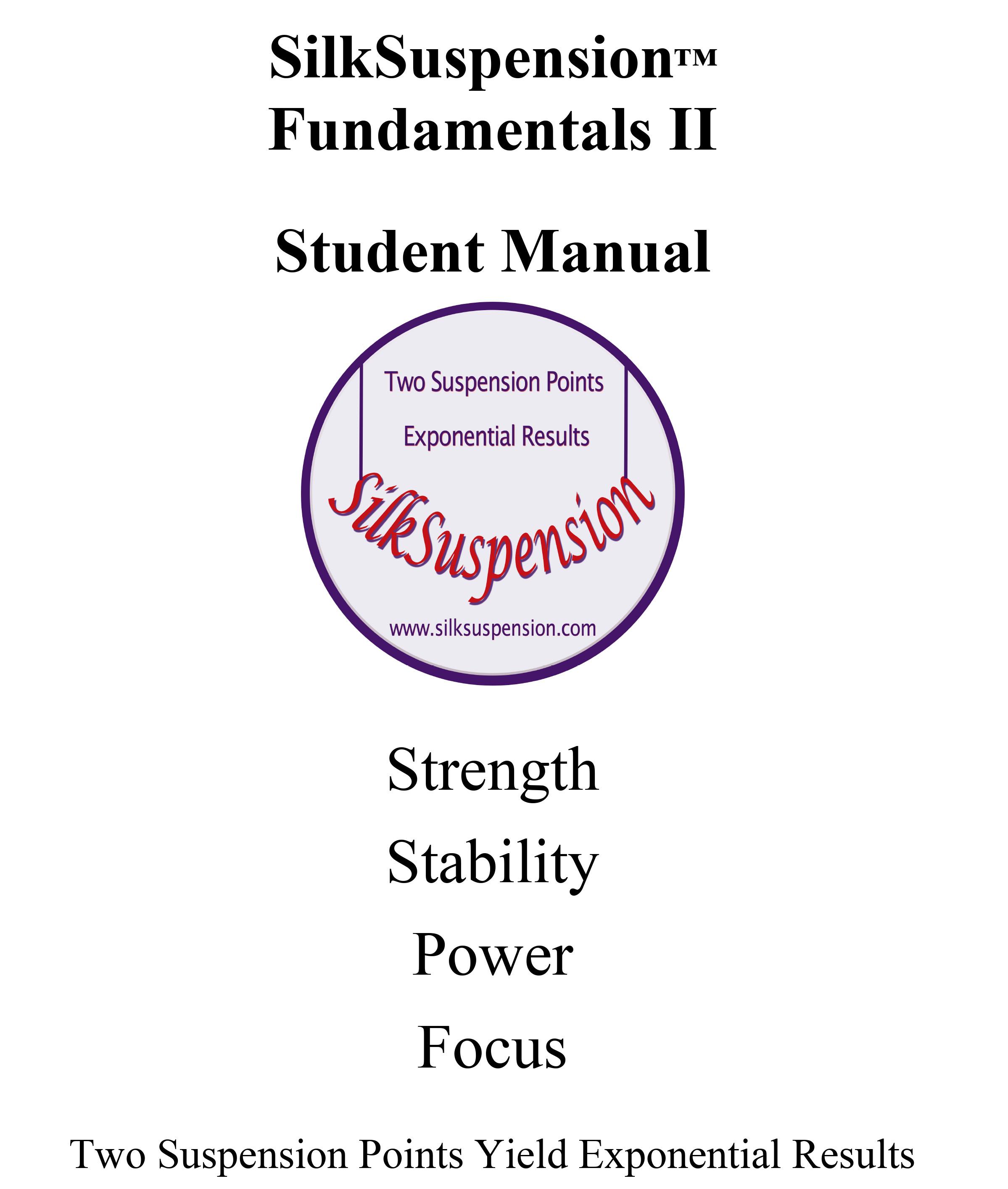 SilkSuspension Fundamentals II (Digital Version)