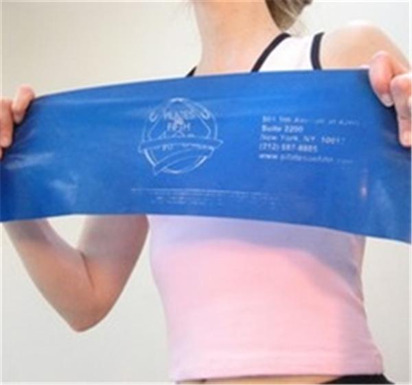 Pilates Exercise Band -Latex-Free Medium (Red)