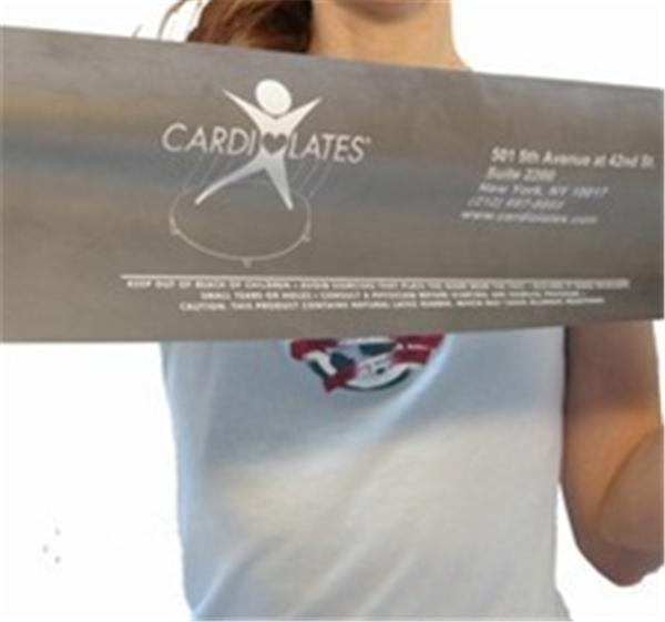 Pilates Exercise Band -Latex-Free Heavy (Green)