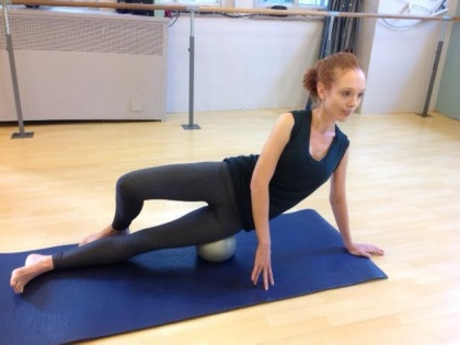 Yamuna Body Rolling at Pilates on Fifth!