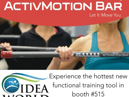 Try ActivMotion Bars at IDEA World!