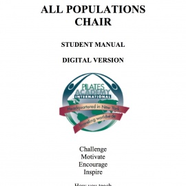 All Populations Chair l Manual -- DIGITAL VERSION