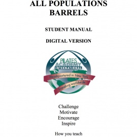 All Populations Barrels l Manual -- DIGITAL VERSION
