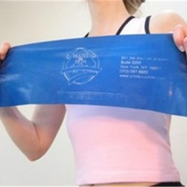 Pilates Exercise Band -Latex-Free Light