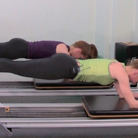 Fitness and Cross Training Workout on the Reformer
