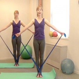 Standing Stretch Band Workout