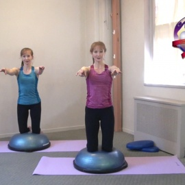 BoSu Workout for the Pelvic Floor