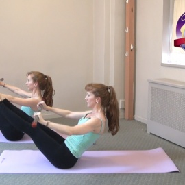 Pilates with the ActivMotion Bar